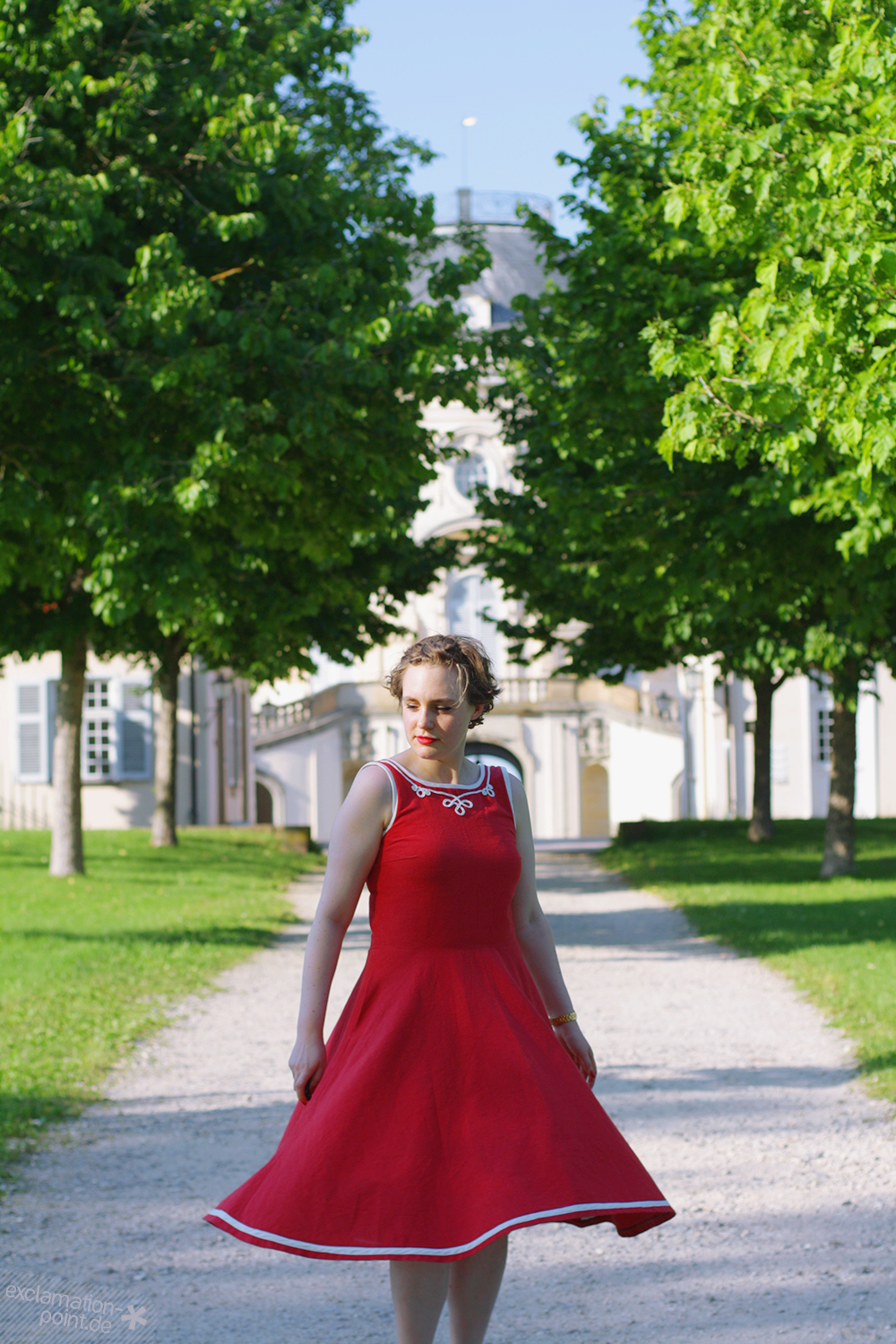 La Maison Victor Eden dress, sailor-style, with soutache | exclamation-point.de - sewing blog
