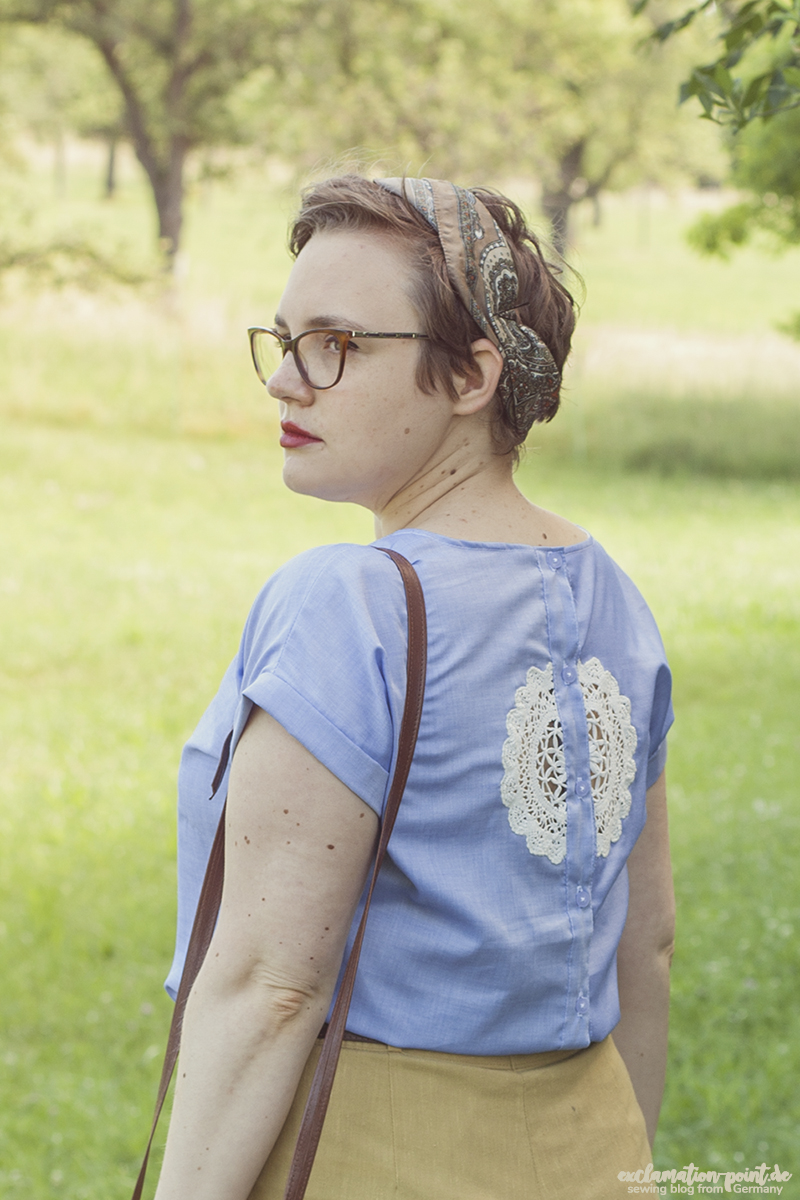 La Maison Victor Odette with Lace Cutout
