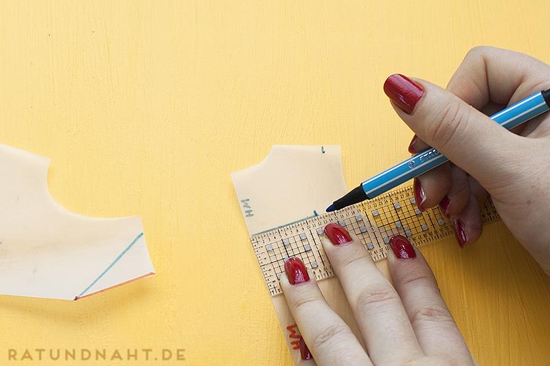 Matrosenkragen konstruieren