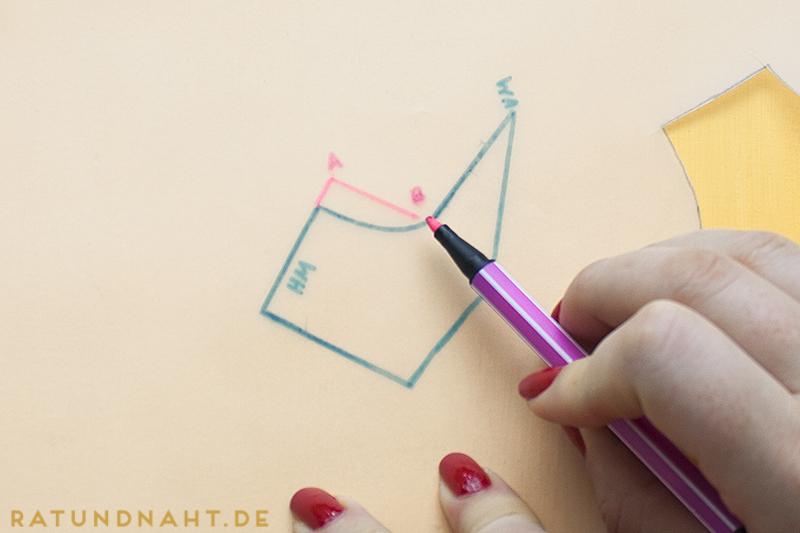 DIY: Matrosenkragen konstruieren - super einfache Anleitung von Rat & Naht