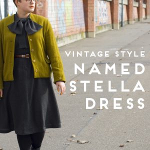Named Stella dress vintage style | Rat und Naht - Nähblog
